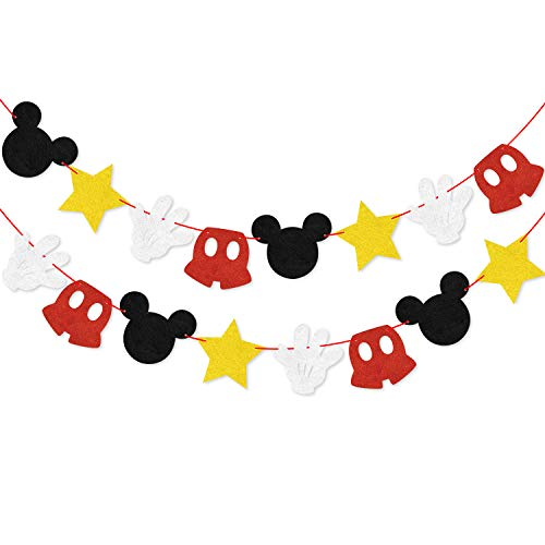 These Mickey Mouse Themed Banners Are Awesome ClubHouse Decor Which Perfect For The Kis Birthday Party Baby Shower Or Other